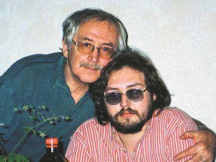 Василий Ливанов с сыном Борисом