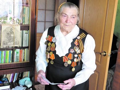 Мария Лиманская до сих пор помнит, как 6 мая 45-го дежурила у ворот