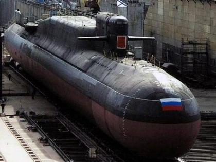 Атомная подлодка «Екатеринбург»