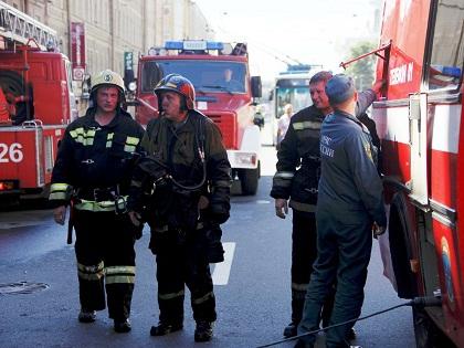 Пожар был ликвидирован в 12:42 мск