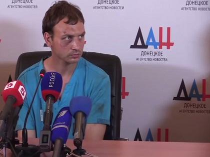 Роман Марченко заявил, что силовики первыми открыли огонь под Марьинкой
