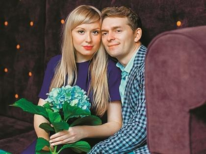 Скорницкая с мужем Дмитрием