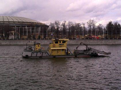 Маленький, но мощный МС-3 патрулирует Москву-реку