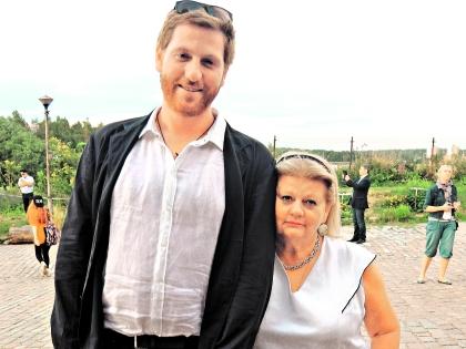 Ирина Муравьева с сыном