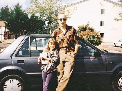 Муж с дочерью