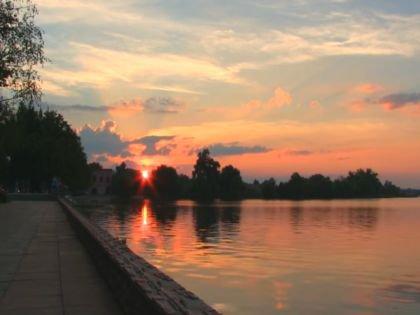 Набережная реки Клязьмы