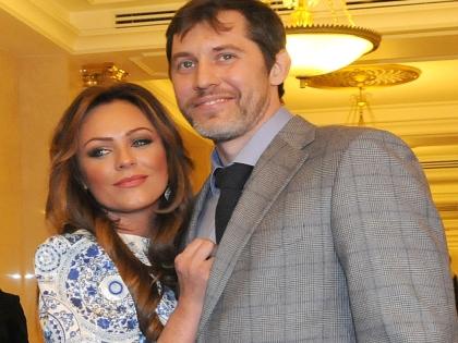 Юлия Началова с возлюбленным Александром Фроловым