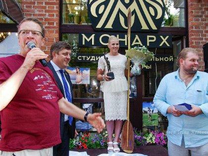 Награждение победительницы всероссииского конкурса Девушка с веслом 21 века