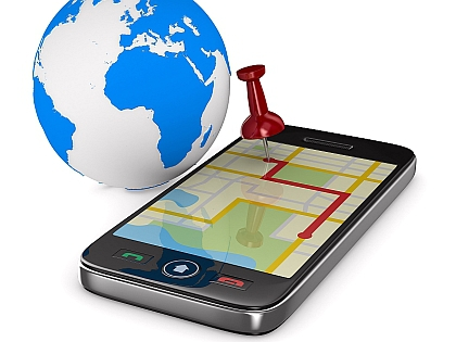 Телефон с навигатором