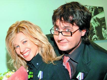 Ирина Нельсон с мужем