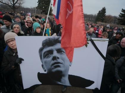 Оппозиционный политик Борис Немцов был убит в Москве в конце февраля, не успев закончить работу над докладом