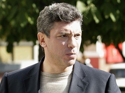 Известный российский оппозиционный политик Борис Немцов