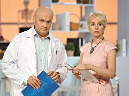 Эппле и врач, директор НИИ натуротерапии Сергей Арсенин ведут медицинское ток-шоу «Нет запретных тем»