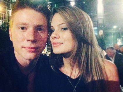 Никита Пресняков и его девушка Алена