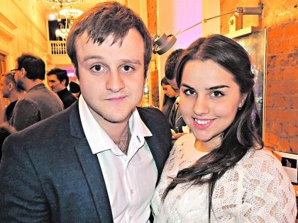 Игорь со своей невестой Ией