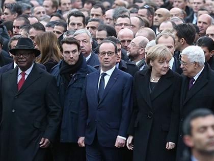 Участие в «марше» приняли ведущие политические деятели мира и почти 4 млн рядовых граждан