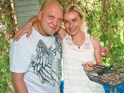 Татьяна Овсиенко с мужем