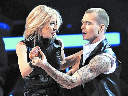 Татьяна Овсиенко с Евгением Кузиным