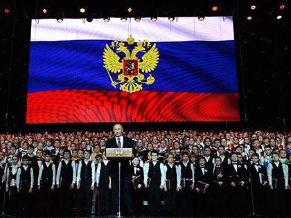 Владимир Путин заявил, что другой национальной идеи у России, кроме патриотизма, не может быть