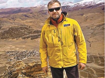Валдис Пельш на Эвересте