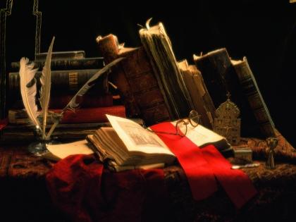 Вокруг Готской библиотеки ходит множество мифов и легенд