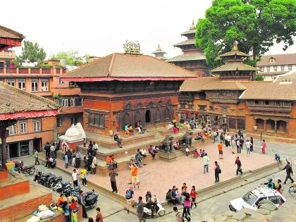 Площадь в Катманду
