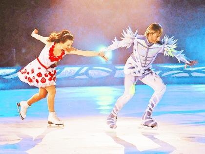 Евгений Плющенко и Ирина Слуцкая