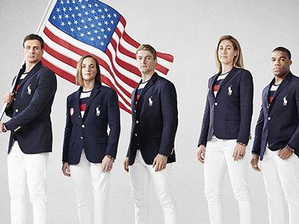 Форма сборной США для торжественного открытия Олимпиады