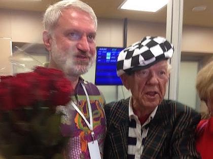 Вадим Гаглоев и Олег Попов