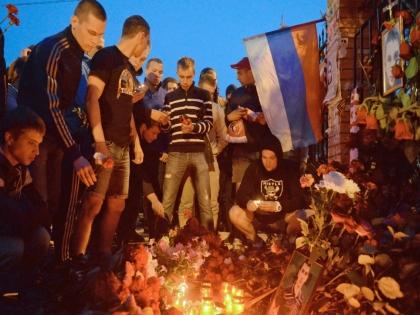 Место гибели Леонида Сафьянникова