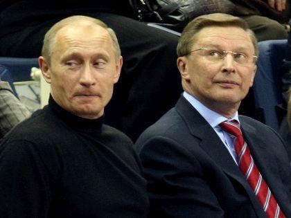 Сергей Иванов и Владимир Путин