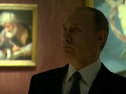 Путин на экспозиции «Roma Aeterna. Пинакотека Ватикана» в Третьяковской галерее