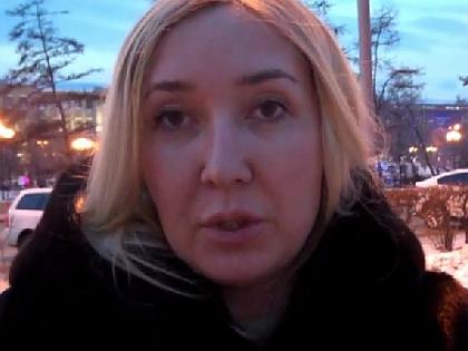 Супруга Леонида Развозжаева Юлия