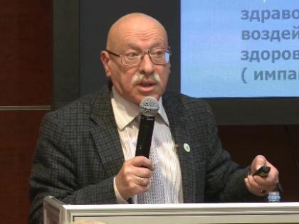 Доктор медицинских наук, профессор Борис Александрович Ревич