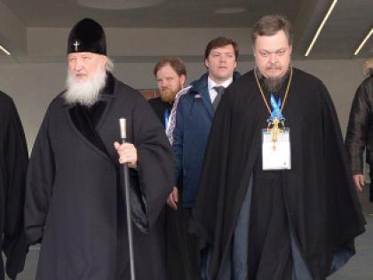 Патриарх Кирилл и Всеволод Чаплин