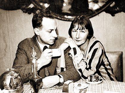 Рина Зеленая и Константин Топуридзе
