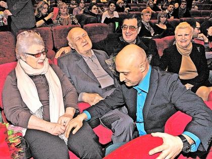 Гоша Куценко с родителями
