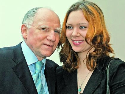 Валерий Баринов с дочерью