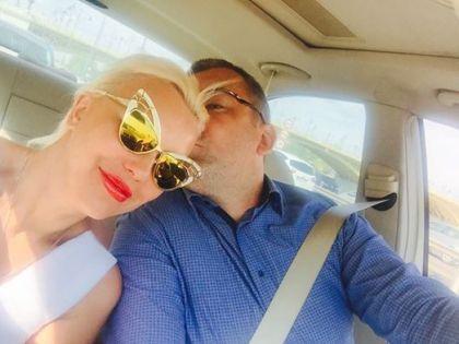 Писательница со своим нынешним мужем Бо