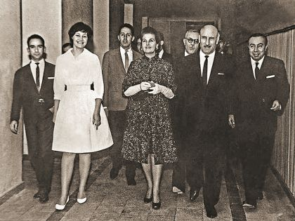С Герасимовым и Макаровой на неделе советских фильмов в Иране