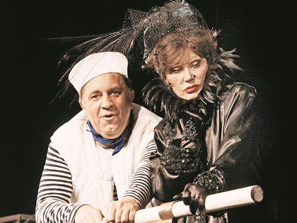 Владимир Стержаков и Людмила Гурченко