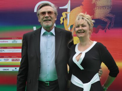 Михайлов с женой Оксаной
