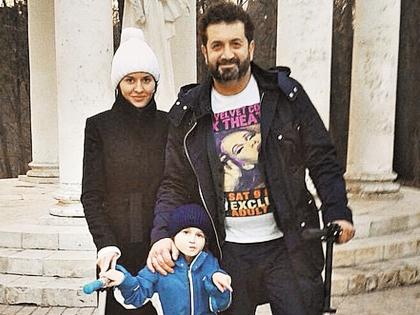 Александр Айвазов с семьей