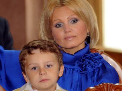 Ирина Климова с сыном Никитой