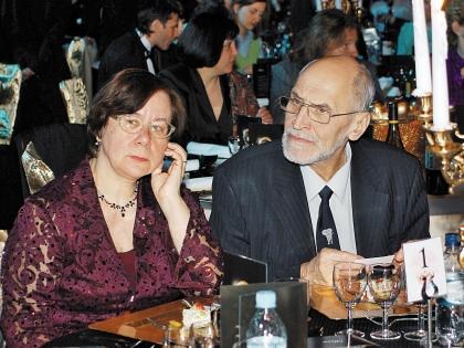 Николай Дроздов с женой Татьяной