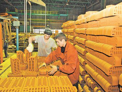 Тульским рабочим выдали зарплату кирпичами