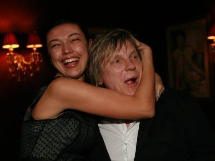 Ирина Метлина и Виктор Салтыков