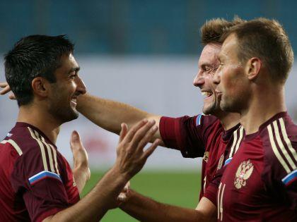 Александр Самедов в сборной России забивает явно чаще, чем мог бы за Азербайджан
