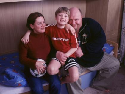 Сергей Крылов с семьей