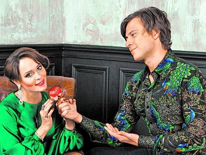 Прохор Шаляпин и Анна Калашникова